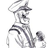 第3話のメイビル艦長