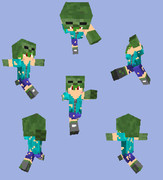 【Minecraft】ゾンビパーカー