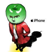 iPhone 擬人化