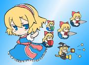 アリスと上海人形と・・・