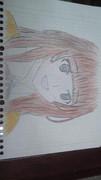 アマガミ 上崎裡沙ちゃんを模写してみた。