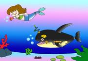 サイボーグ人魚ちゃんとメカシャチ君