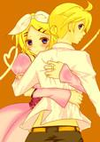 お姫様と騎士様ごっこ。【リンレン】