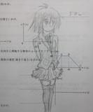 【授業中】 落書きしてみた。 【安定のクルトガ】【物理の授業】