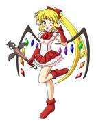 フランちゃんの衣装「魔法少女のフリフリ」