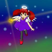 紅い髪の天使