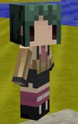 【Minecraft】littleMaidMobでレッスルエンジェルスの杉浦美月のようなもの