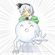 【GIFアニメ】みょんε 三┌(┌ ^o^)┐