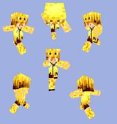 【Minecraft】ブレイズパーカー