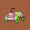 うましかトカゲをGIFアニメにしたんですが