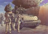 イラクの最前線