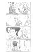 【4コマ】外道も人の子【Fate/Zero】