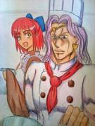 ヴァニラさんと琥珀さん。