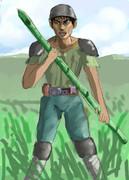 竹やり超人 タケヤリスト