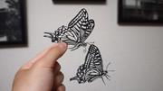 【切り絵】アゲハチョウ
