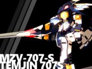 【MMD-OMF2】テムジン707S
