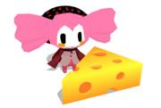 【MMD-OMF2】シャルロッテにチーズあげてみた