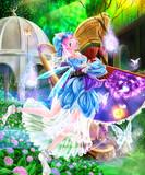 旧楽園の紫陽花
