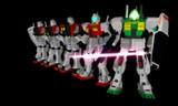 【機動戦士ガンダム】ジム製作キット+ヌーベルGM-III【カスタムキット】