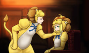 セイバー&ギルライオン