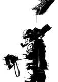 *tat*Signal's clean. Range, 20 meters.