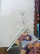 えむえむっ! 結野嵐子を手描きで・・・