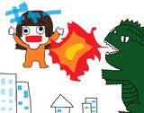 なちゅらる+ vs ゴジラ