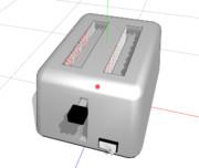 【MMD-OMF2】ペパクラ式ポップアップトースター