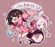【マイクラ】lv100おめでとう!!