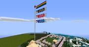 【Minecraft】Minecraftで鯉のぼりを作ってみた with竹MOD【こどもの日】