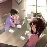 喫茶店での