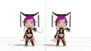 【MMD-OMF2】無双OROCHIの妲己っぽいモデル