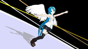 【MMD-OMF2】 踊る天使の翼
