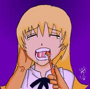WO!!:八千代さんに歯磨きプレイ
