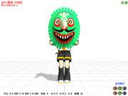 【MMD-OMF2】お面アクセ