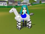 [MMD-OMF2]ロボット馬