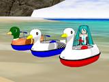 [MMD-OMF2]ペダルボート