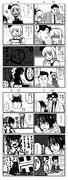 ゆっくり妖夢と本当にこわい4コマ漫画3