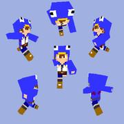 【Minecraft】プリニーパーカー【日本一シリーズ】