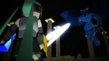 【MMD-OMF2(動画静画の部)】聖剣を持ち帰って闇に堕ちよう!
