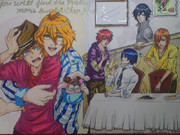 【描いてみた】うたの☆プリンスさまっ♪ ST☆RISHメンバーを描いてみた【マゼンタ】