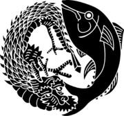 マグロアンドドラゴン社紋章
