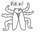 02 筋肉質なセミ (別ver)