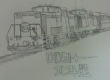 DD51 北斗星色