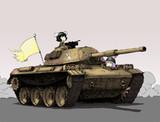 ウサギの戦車