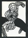 スパイダーマン 「切り絵」