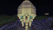 マインクラフトで巨神兵 巨神兵作ろうとしてみた 10 エンダーストーンの頭蓋骨
