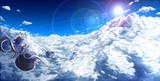 遙か雲の上は・・・