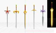 FEの剣一式