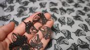 【切り絵】溢れる蝶羽